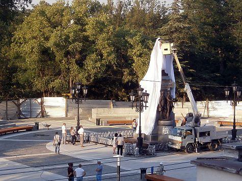 Центр Симферополя перекроют навремя открытия монумента ЕкатеринеII