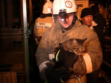 Пожар Ялте: несколько семей остались без крова