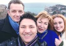 Французский певец Мурад Бурауи посетил Крым
