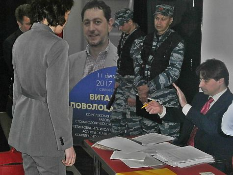 Скандал в Крыму: лидера местных справедливороссов не пропустили на партийную конференцию
