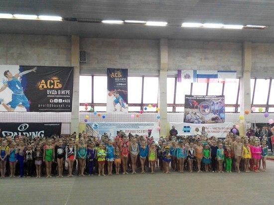 Эстетическая гимнастика: в Крыму состоялся масштабный турнир с участием 300 спортсменов