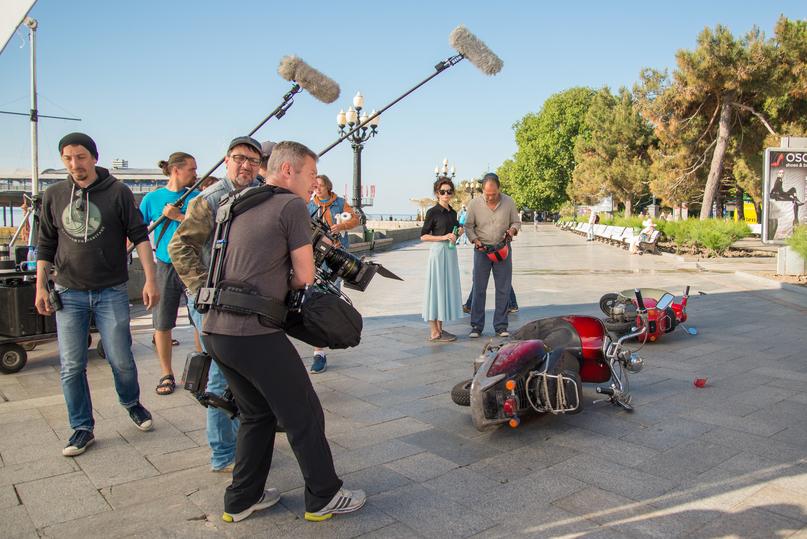 Съемка фильма крым 2018