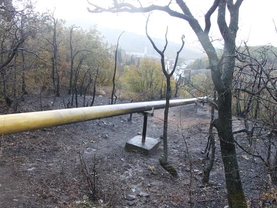 Жители Алушты, где взорвался газопровод: «Шипение газа было такое, будто самолет пролетает!»