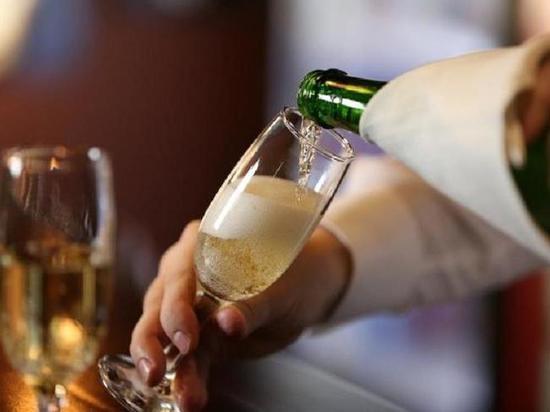 Шампанское а потом секс
