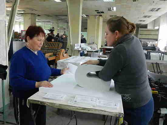 В Крыму напечатают 1,5 миллиона бюллетеней со спецзащитой