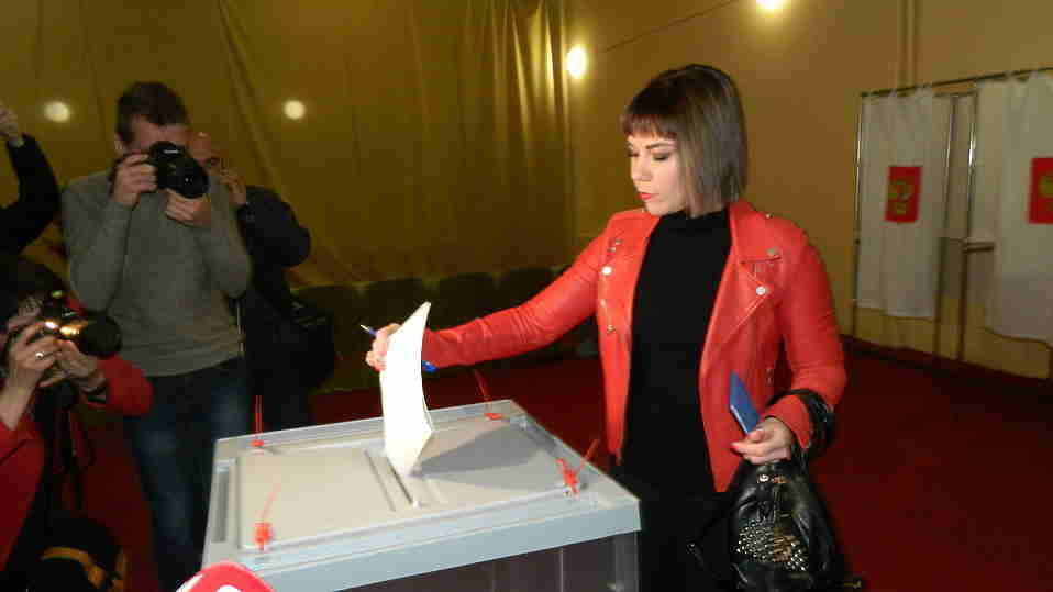 Группа «Дискотека Авария» отдала голос вКрыму