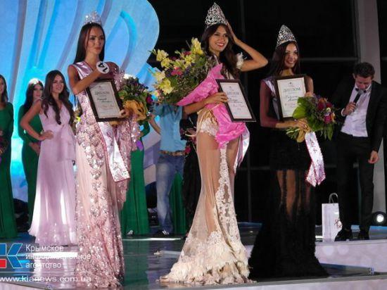 «Мисс Крыма 2014» стала Анжелика Помитун